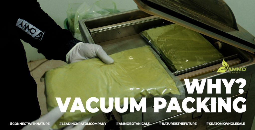 The advantages of using the vacuum sealer machine for kratom products. Best way to pack and keep your kratom quality fresh